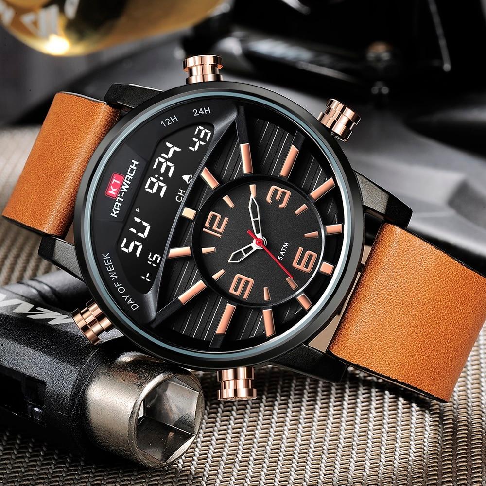 Женские модные спортивные часы, мужские военные часы, камуфляжные водонепроницаемые мужские часы с отображением недели, цифровые часы, муж...