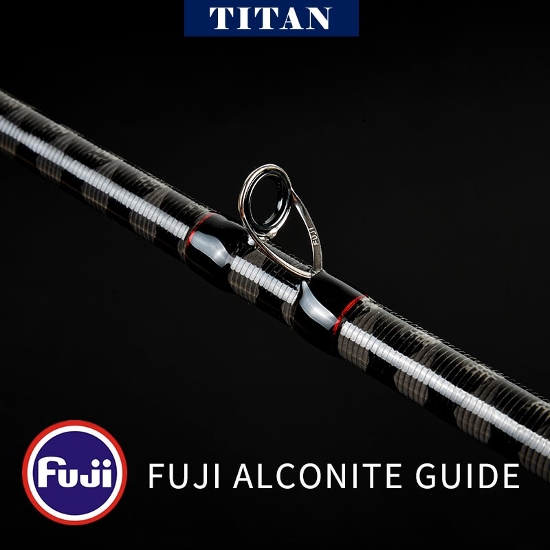 Kyorim TITAN LURE ROD TTC-762XH Japan Fuji A Guide Reel Seat 3A Grade Cork Handles 2 Sections XH POWER 231g enlarge