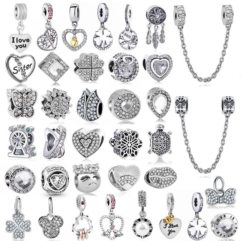 2 шт./лот, серебряный цвет, перо, колесо обозрения, кулон, подходит Pandora, подвески, браслеты, сделай сам, ювелирные изделия, женские серебряные ювелирные изделия, аксессуары