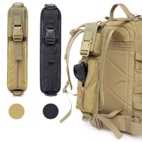 tactical backpack shoulder strap sundries pouch molle key flashlight pouch outdoor camping hunting accessories pack edc tool bag