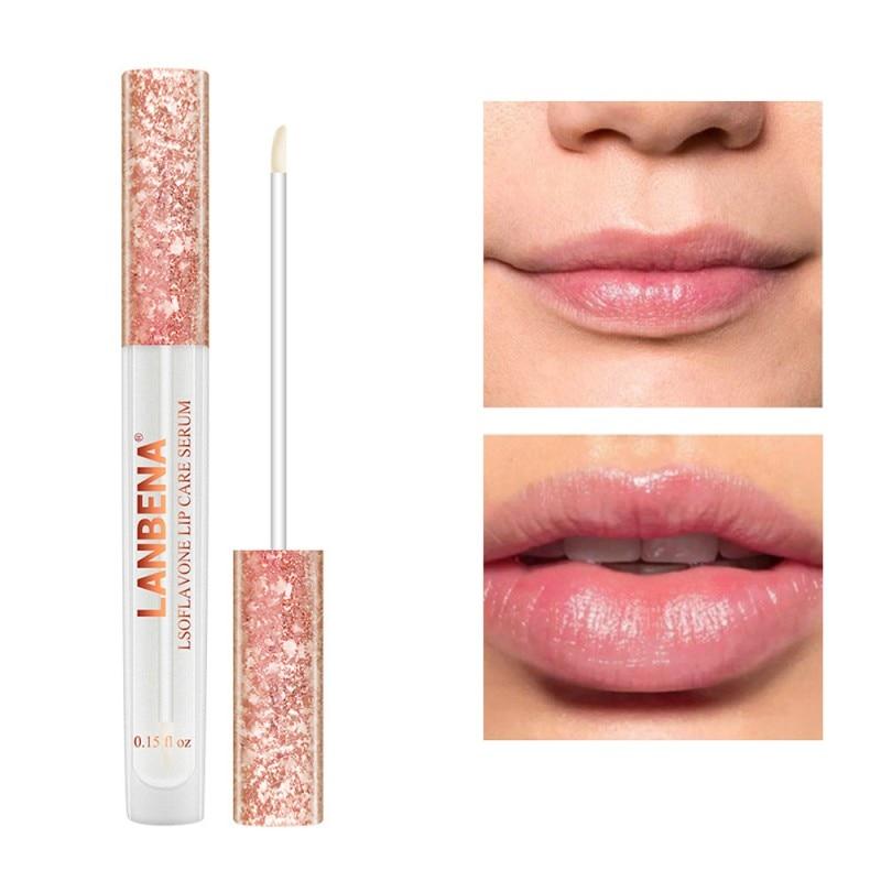Moisturizing Anti-wrinkle Lip Plumping Serum Increase Elasticity Lips Moisturizing Serum Nourishing Lip Care Serum botanical lip plumping liquid increases plump lips moisturizing and moisturizing essence lip plumping oil