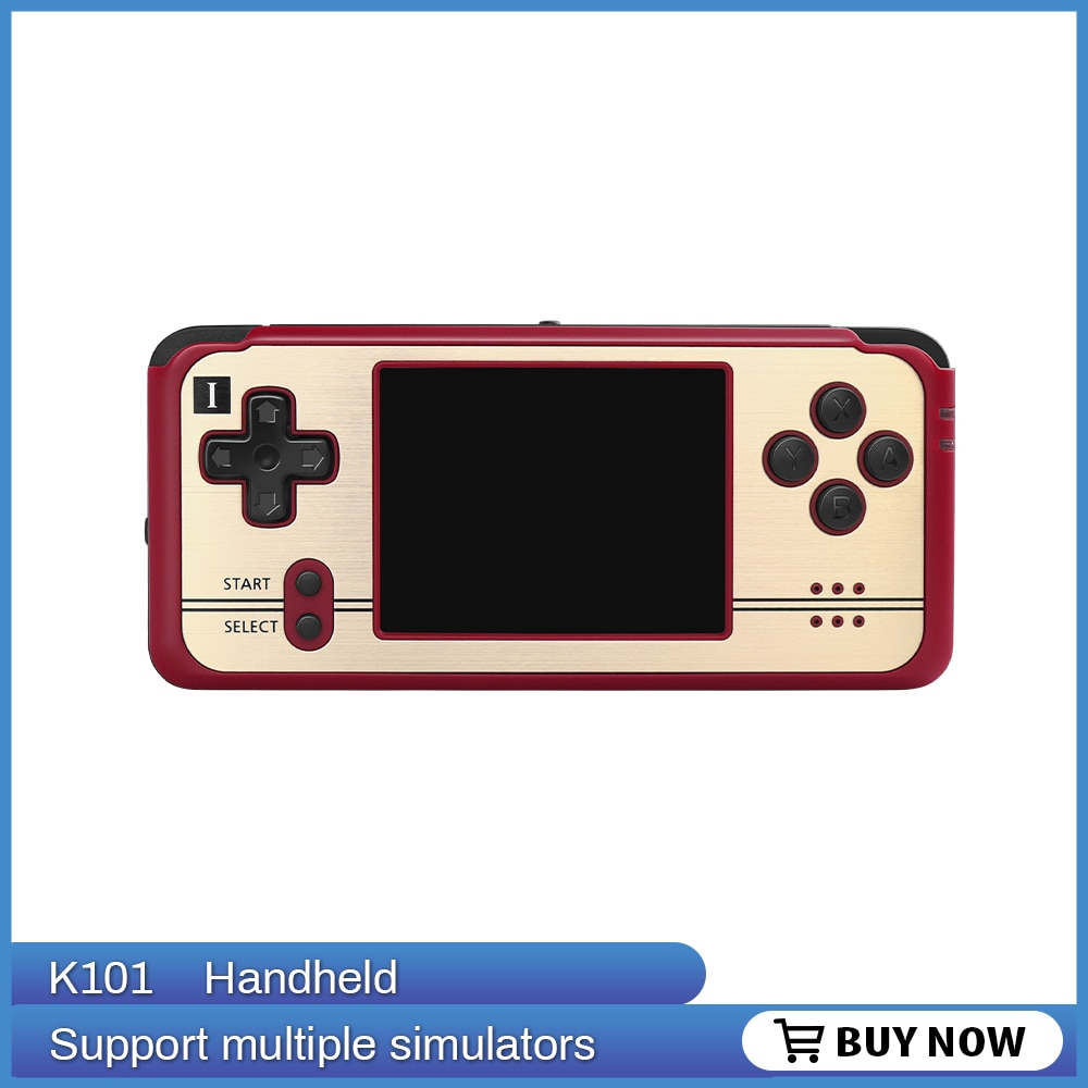 Open Source, retro game Revo K101 Plus retro handheld 64 bit video game player support TV connection