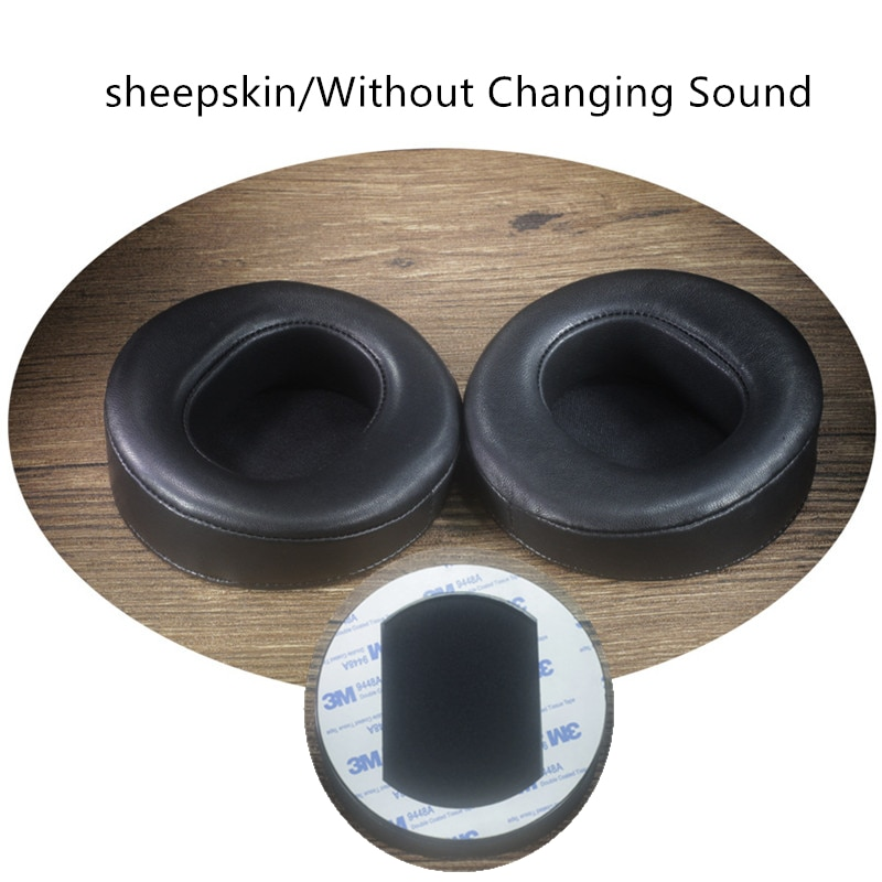 بزاوية جلد الغنم بطانة للأذن ل AUDEZE LCD2 LCD3 LCD4 LCDX سماعات استبدال رغوة الذاكرة الناعمة دون تغيير منصات الصوت