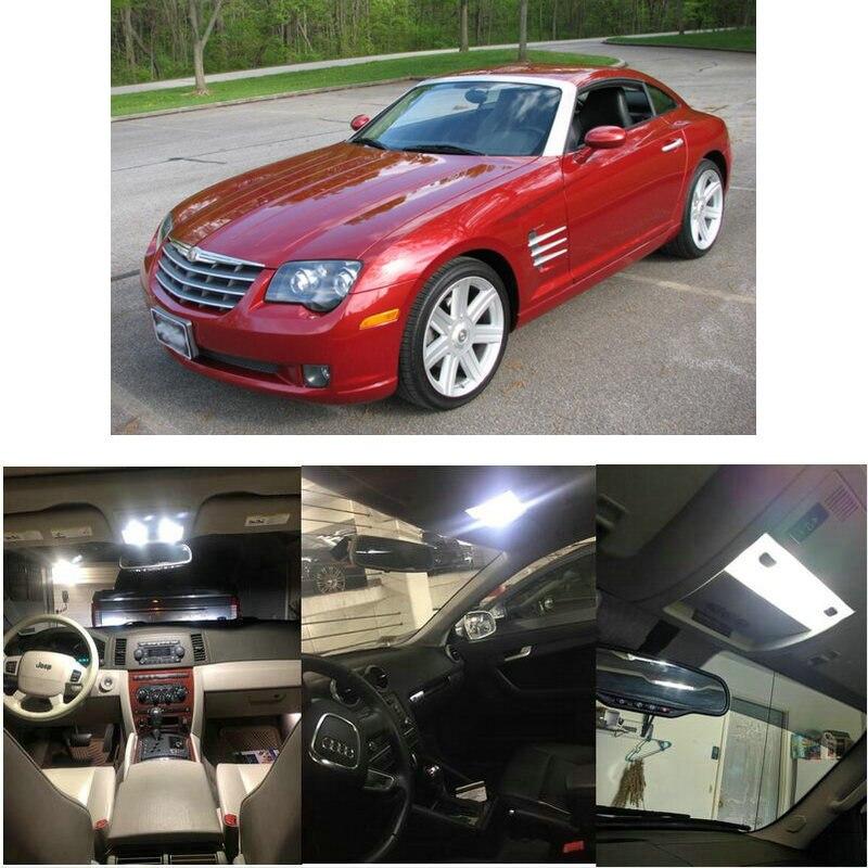 Interior luces Led para 2004 Chrysler 300M Concorde Intrepid Pacifica ciudad país Sebring PT Cruiser fuego cruzado