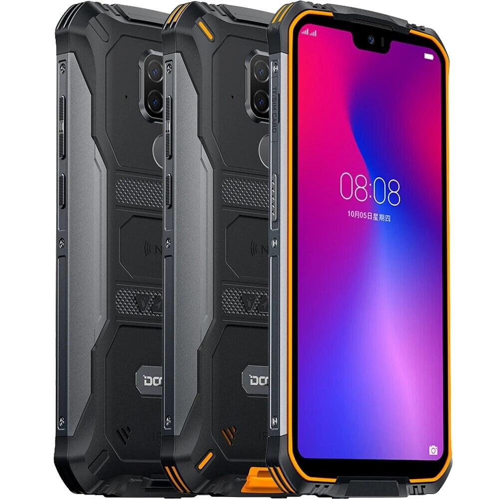 Перейти на Алиэкспресс и купить DOOGEE S68 Pro глобальная версия 5,9 дюймов FHD + IP68 Водонепроницаемый 6300 мАч NFC 21MP Тройная задняя камера 6 ГБ 128 ГБ Helio P70 смартфон