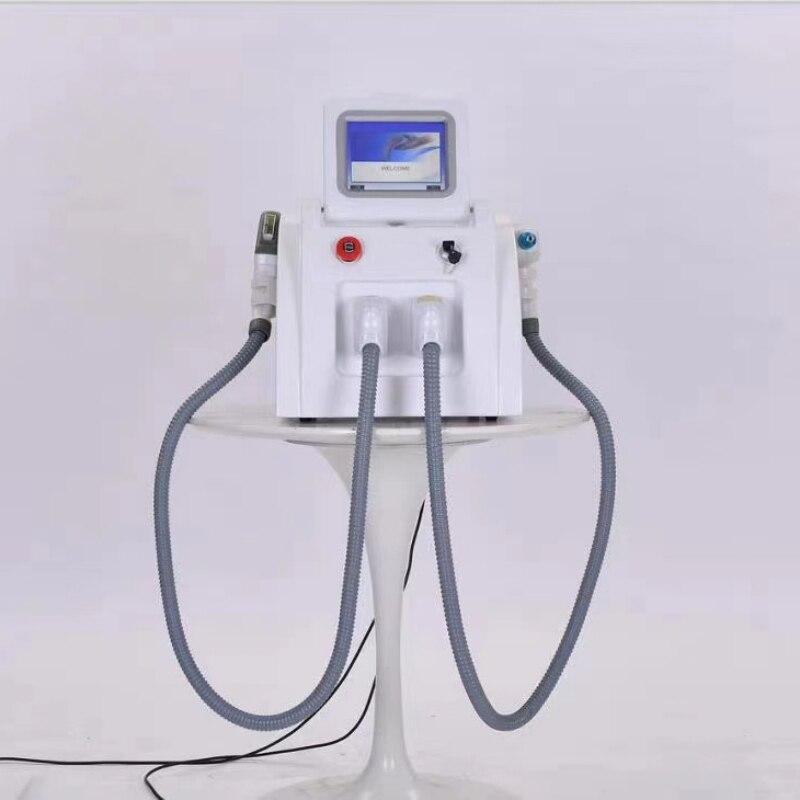 Multifunction da Beleza do Laser do nd Optam o Laser do Picosegundo Yag da Remoção do Cabelo do Ipl com 2 Máquina Punhos Shr