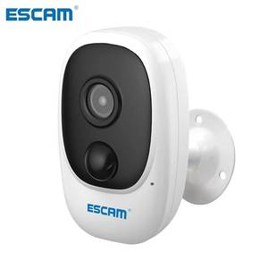Mini Camera G08 1080P Wireless Battery Rechargeable PIR IP Camera Solar Panel Audio Security Video Recorder ESCAM