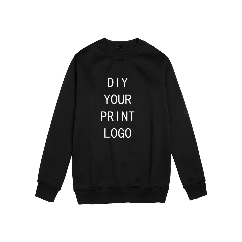 Customized Sweatshirt Pullovers Tops Women Custom Made Sweatshirts Womens Fashion O-Neck Autumn Long Sleeve XXS-4XL Diy LOGO