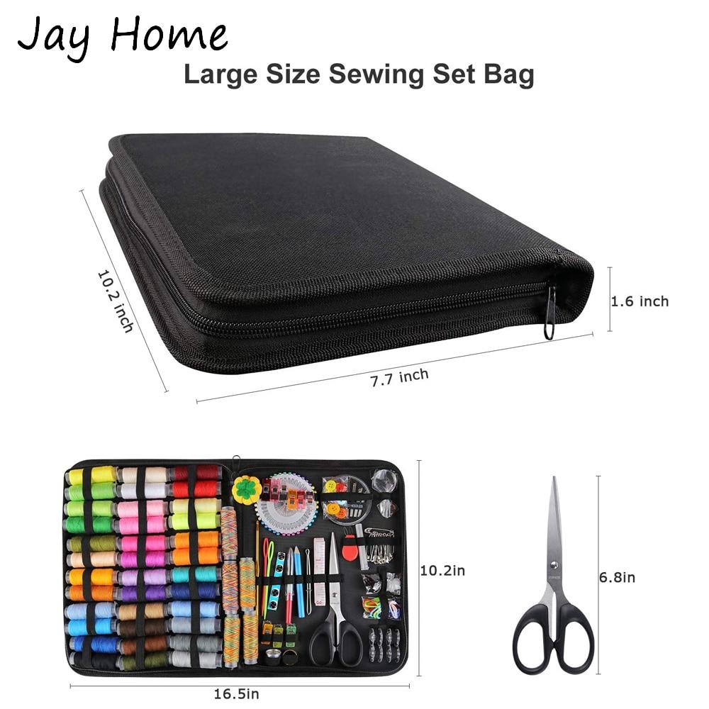 87/200Pcs Sewing Kits Multi-function Travel Sewing Bag Sewing Thread Spool Kits For Sewing Tools Storage Bag DIY Sewing Supplies