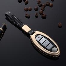 Aluminum Alloy Car Key Case Cover Protection Protector Accessories For Nissan Infiniti QX50 Q50L Q60 Q70 QX6