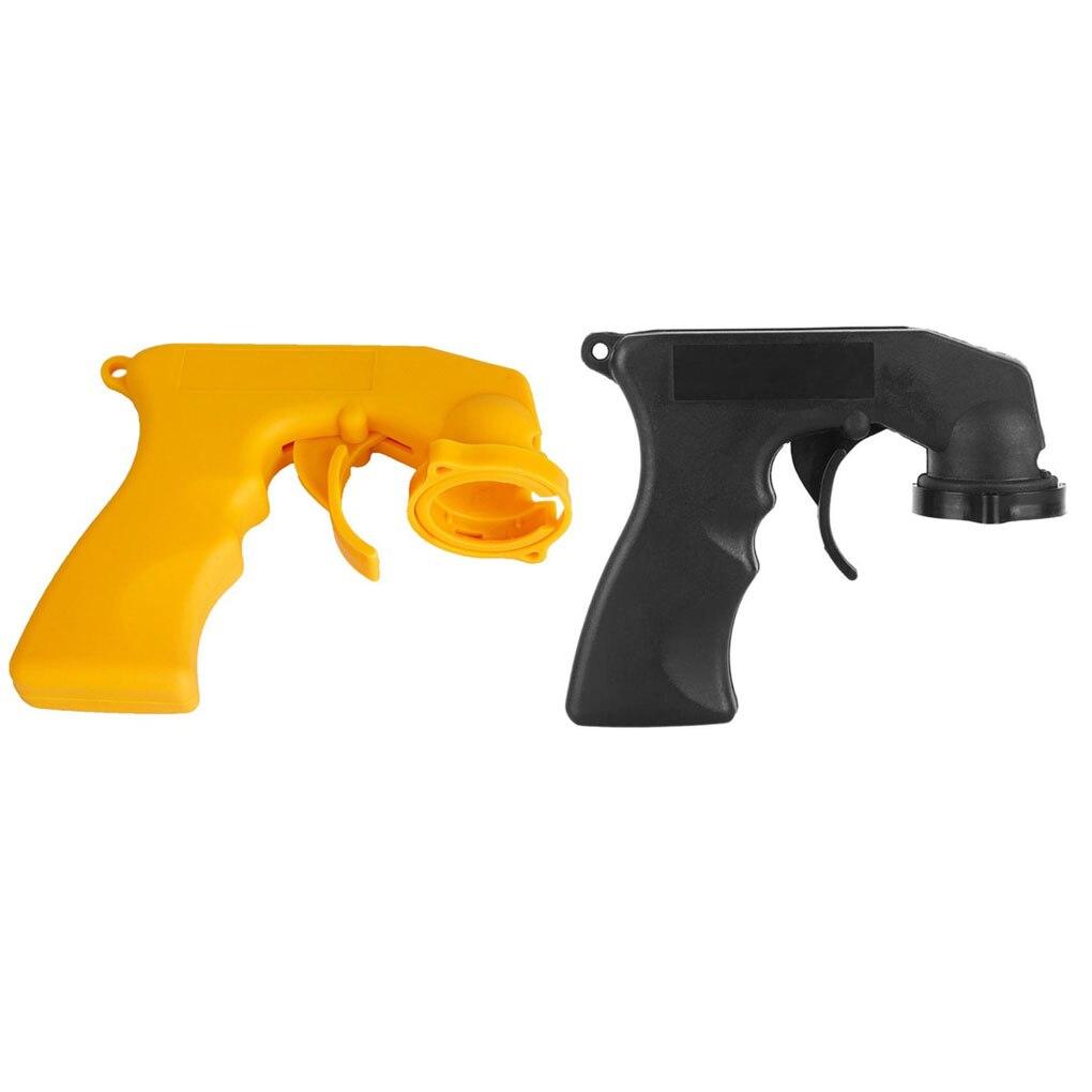 Spray de cuidados com pintura aerósol, pistola spray de cuidados com pintura com pegada completa, gatilho, coleira de travamento, manutenção de carros