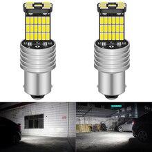 BA15S P21W 1156-lampe Auto   2 pièces, phare inversé pour VW Passat B5 B6 Golf 4 2001-2010 Canbus, lampe Auto, erreur libre DC 12V 6000K