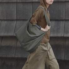 2019 Wild Female Tide New Korean College Female Ulzzang Harajuku old School Canvas Cross Body Bag Casual Tote