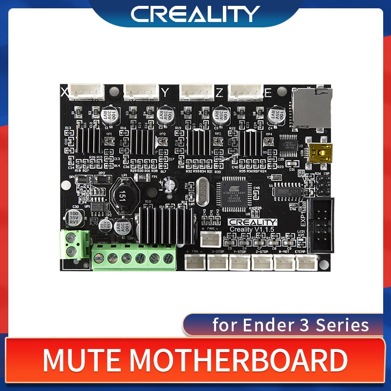 3dsway 3d printer motherboard lerdge k arm 32bit controller board with 3 5 touch screen diy parts wifi control mainboard CREALITY Original Upgrade Silent Mainboard 32bit V4.2.7 Silent Motherboard for Ender 3/Ender-3 Pro/Ender-5 5Pro 3D Printer Parts