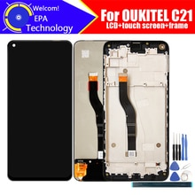 6.4 inch OUKITEL C21 LCD Display+Touch Screen Digitizer Assembly 100% Original New LCD+Touch Digitiz