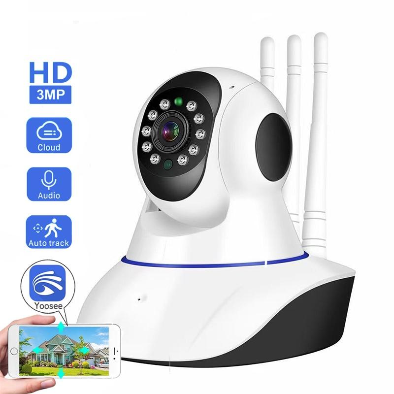 Yoosee 2 МП сетевая PTZ-камера, беспроводная камера видеонаблюдения, Домашняя безопасность, ночное видение, Двухканальное Аудио CCTV, домашняя рад...