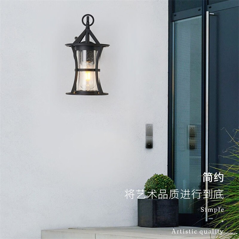DLMH Outdoor Classical Wall Lamp LED Light Waterproof IP65 Sconces For Home Porch Villa Decoration enlarge