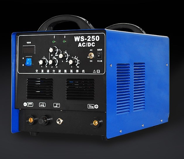 WSE-250 آلة لحام الألومنيوم خاص التيار المتناوب و تيار مستمر 220 فولت آلة لحام الأنابيب لحام/آلة لحام ثلاثة في واحد سبائك الألومنيوم لحام