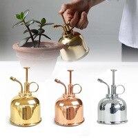 300ml Mini Copper Plant Flower Watering Can Pot Spray Bottle Garden Mister Sprayer