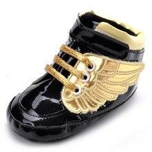 جديد 2020 أحذية للأطفال الرضع حديثي الولادة بيبي بوي فتاة الأولى ووكر أحذية لينة سوليد عدم الانزلاق الجناح أحذية سرير 0-18 متر