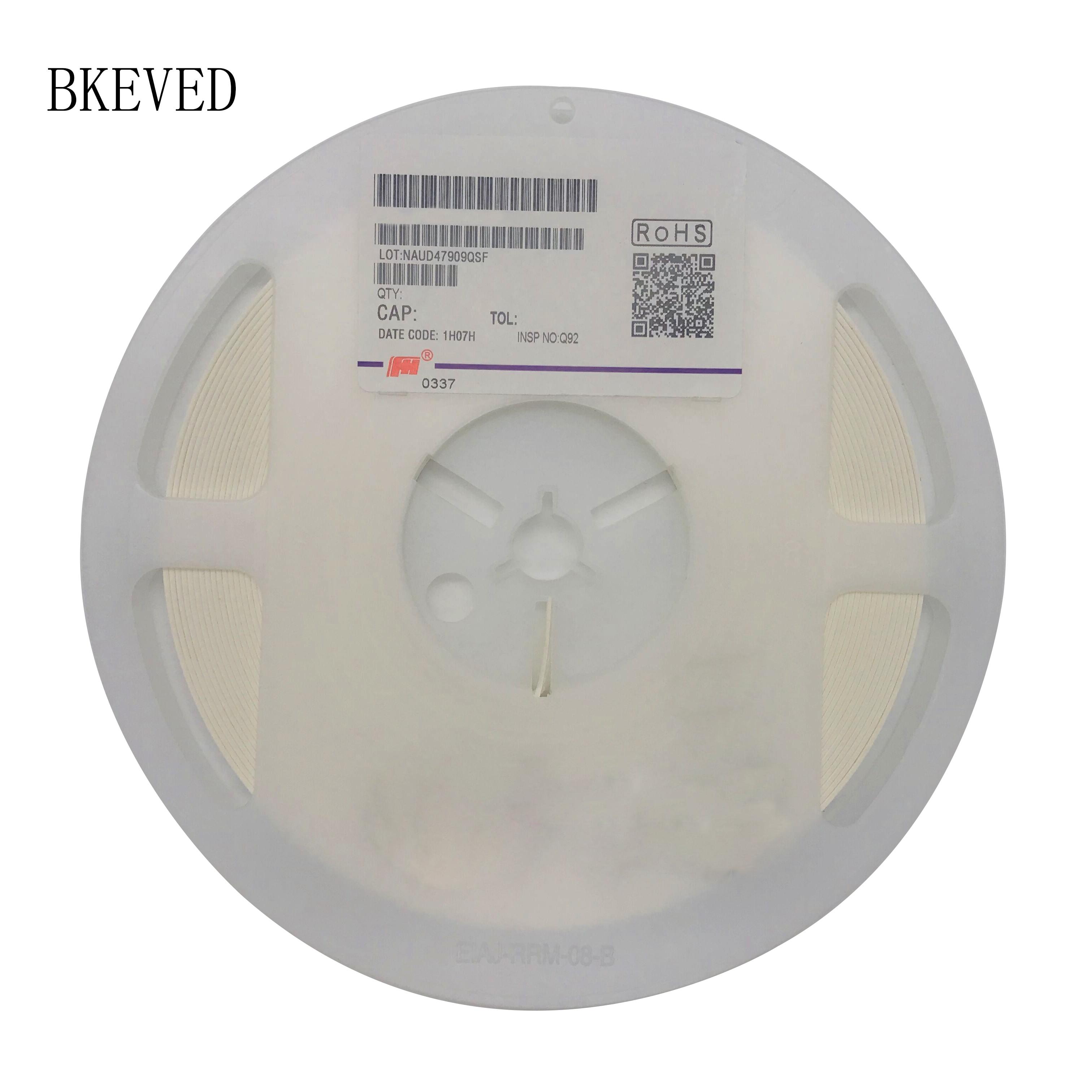 1 carrete 4000 Uds 0805 50V SMD Chip de película gruesa condensador cerámica multicapa 0.5pF-47uF 10NF 100NF 1UF 2,2 UF 4,7 UF 10UF 1PF