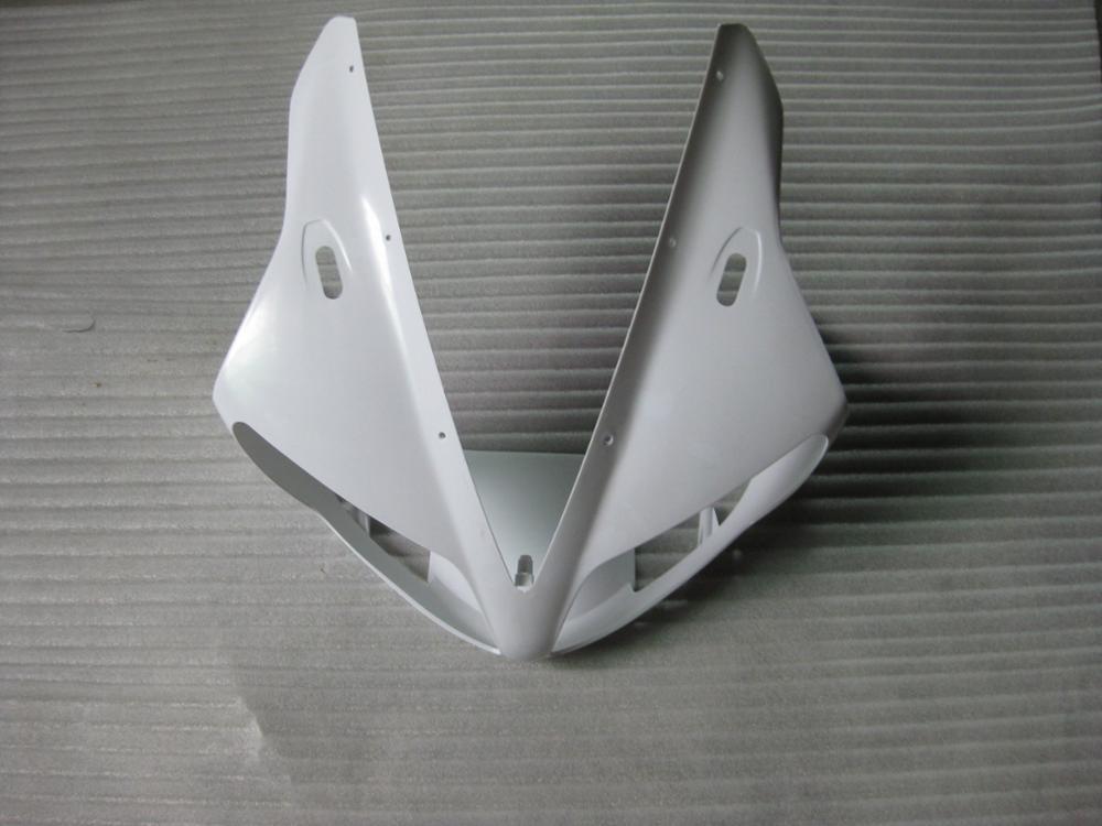 Carenado Individual de cabeza superior para Yamaha YZF R1 YZFR1 2002-2003 YZF-R1 YZF1000 R1000 2001 2002 2003 carenados de cubierta de nariz superior