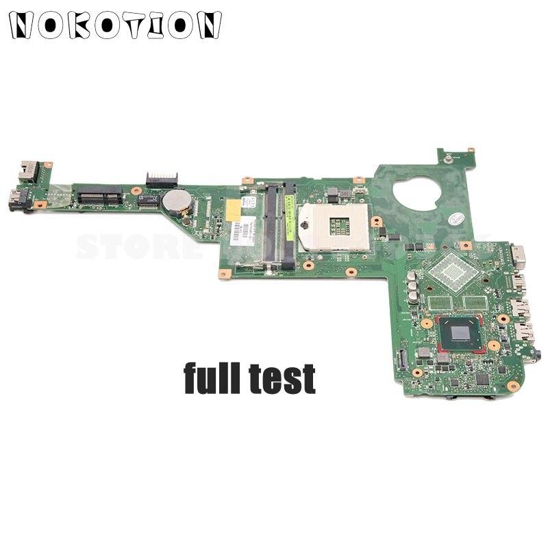 NOKOTION 698093-501 698093-001 placa principal para HP Envy M4 M4-1000 placa base para portátil HM77 gama HD DDR3