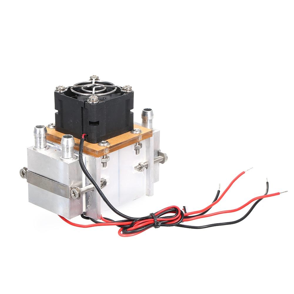 DIY 12V TEC электронный полупроводник Пельтье Термоэлектрический охладитель холодильник водяное охлаждение состояние движения охлаждения Сис...