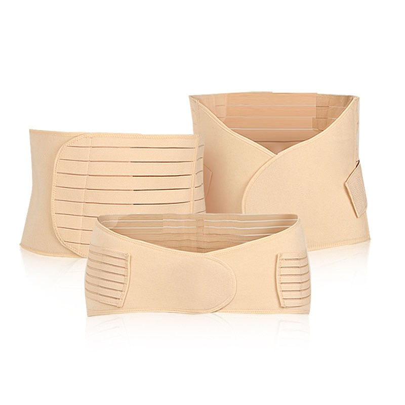 Maternal and child postpartum abdomen with three-piece set Maternal corset belt to produce slimming shaping belt intimates enlarge