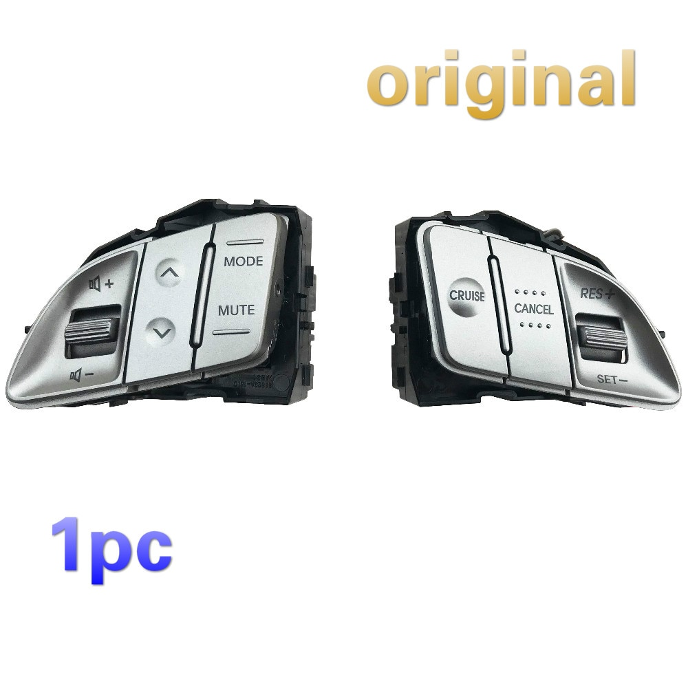 1Pc Originele Voor Hyundai Ix35 Multifunctionele Stuurwiel Knop Volumeknop Constante Snelheid Cruise Knop
