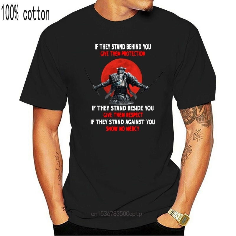 New IF THEY STAND BEHIND YOU GIVE THEM RESPECT MEN T-SHIRT