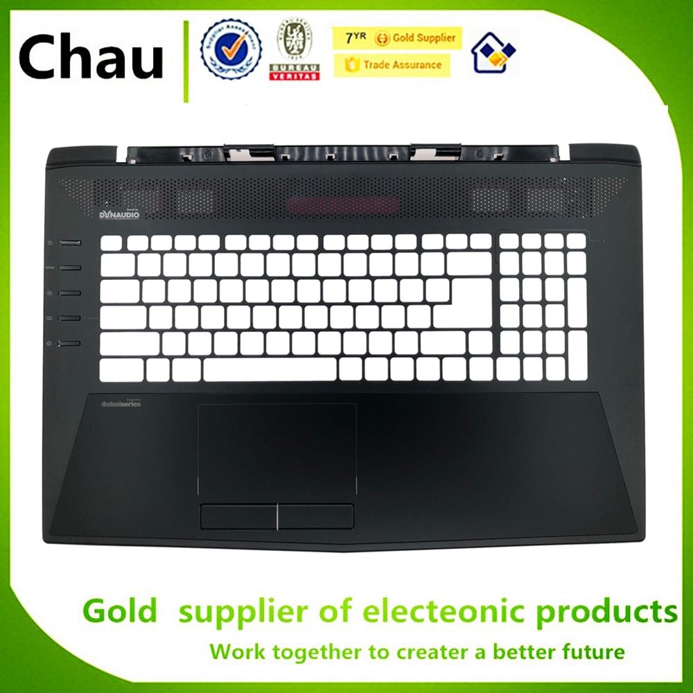 Chau nuevo para MSI GT72 GT72S MS-1781 MS-1782 para ordenador portátil palmreest teclado Bezel cubierta superior de la carcasa superior negro 307781C213Y311