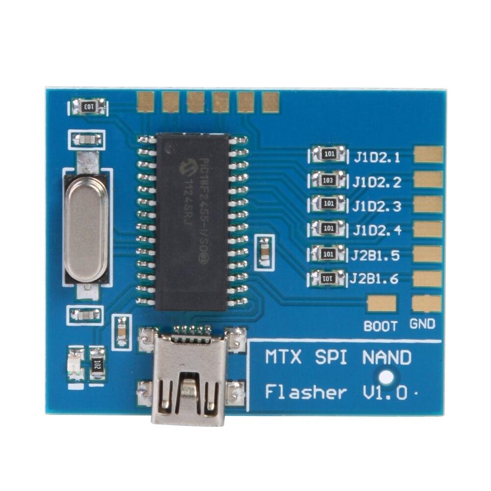 ALLOYSEED Matrix USB SPI NAND programador lector MTX SPI intermitente V1.0 Matrix NAND lectura-tablero para escribir para Xbox 360 piezas de repuesto