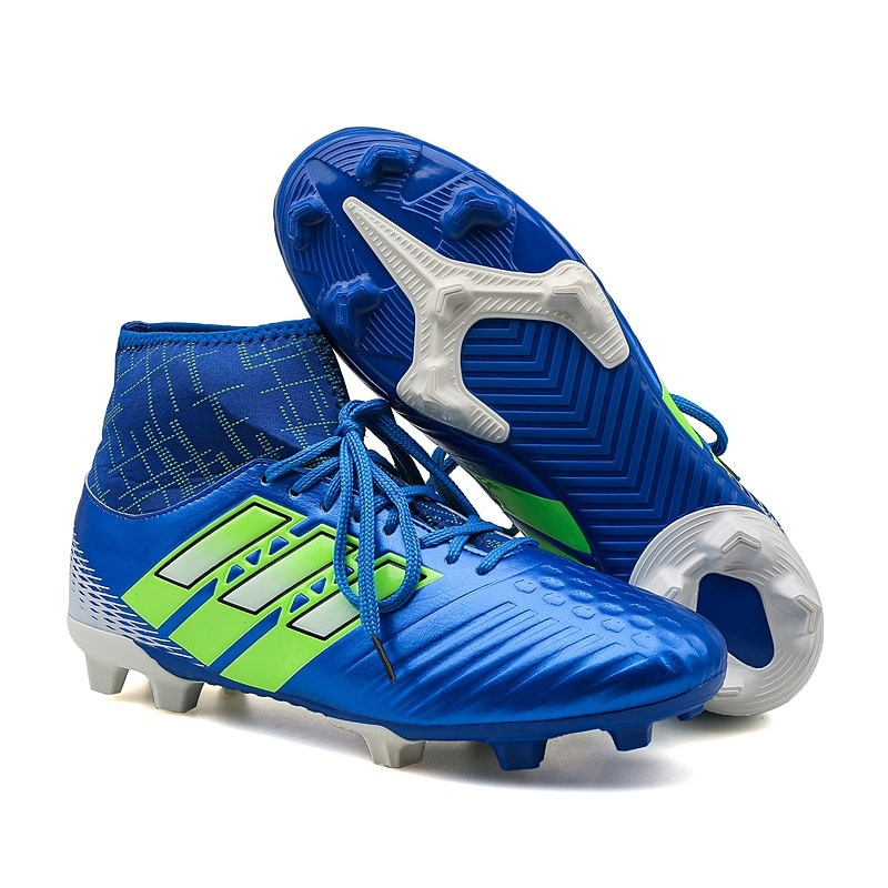 Football Boots Breathable Comfortable Outdoor Soccer Cleats Soft Outdoor Sport Professional Men Women Shoes