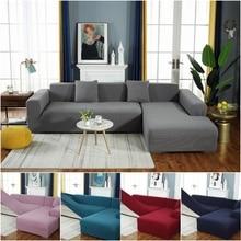 Fundas de sofá sólidas todo incluido para sala de estar combinación de funda de sofá antipolvo funda de sofá elástica suave funda completa para sofá