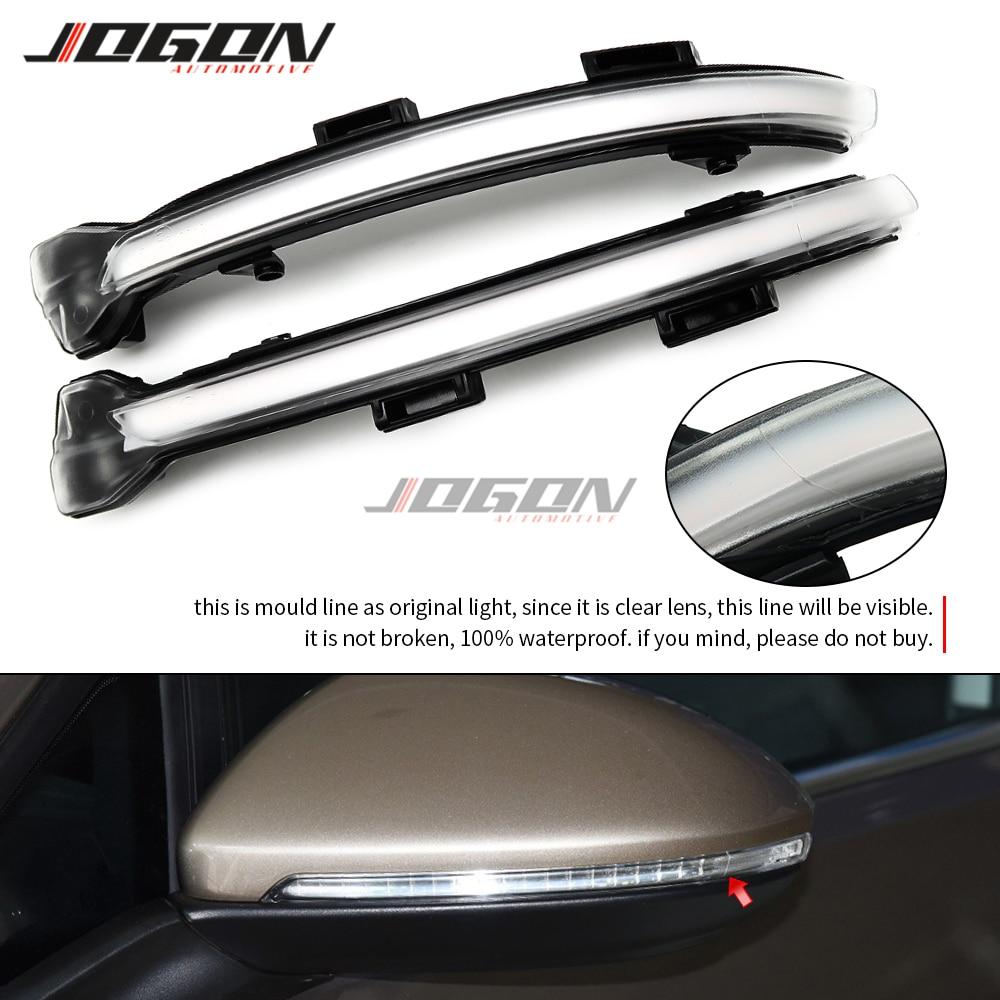 For VW Volkswagen Golf 7 Jetta MK7 VII MK7 Golf 7.5 GTI R Touran LED Dynamic Turn Signal Light Side Mirror Sequential Blinker