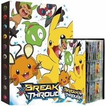 432pcs Anime Pokemon Cards Album Book Pikachu Game Card Collection Holder Map Binder Folder Top Load