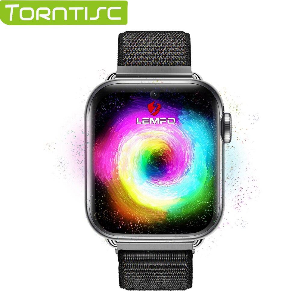 Torntisc 4G ساعة رقمية أندرويد 7.1 1.82 بوصة 360*320 شاشة 3GB + 32GB لتحديد المواقع واي فاي 700mah بطارية كبيرة Smartwatch PK LEM10