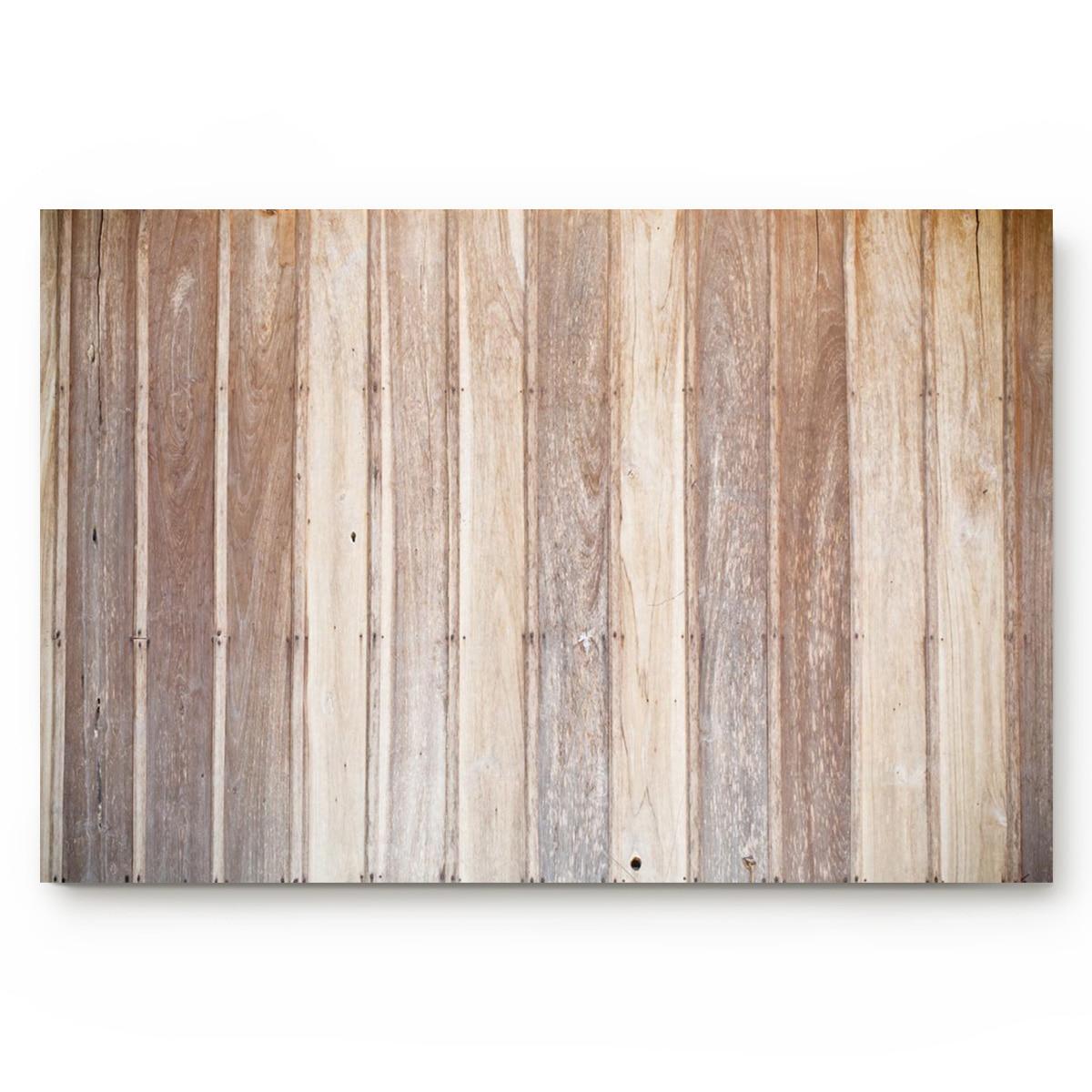 Tablón de madera Retro marrón alfombras de baño antideslizantes felpudo puerta Mat accesorios de baño