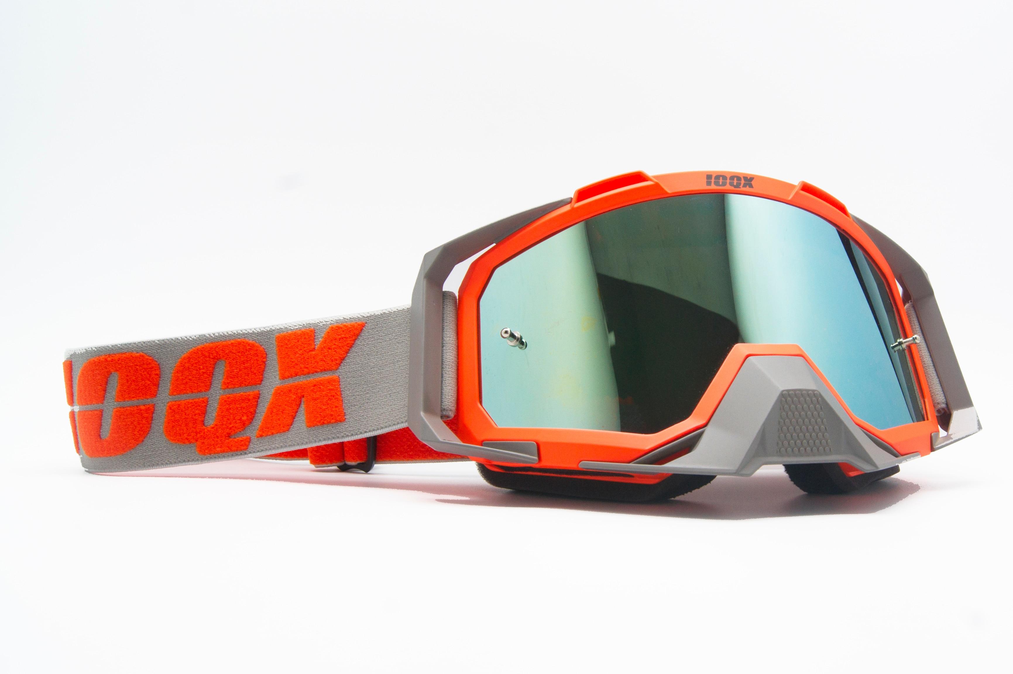 IOQX Motorcycle Protective Gears Flexible Cross Helmet Face Mask Motocross Goggles ATV Dirt Bike UTV Eyewear Gear Glasses enlarge
