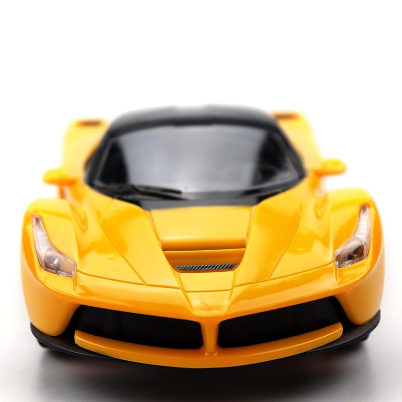 116 RC coche de juguete Rc coche de deriva modelo de alta velocidad de Control remoto coche de carreras modelo de coche de juguete amarillo C14