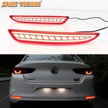 JAZZ TIGER 2 pièces phare antibrouillard arrière   Voiture 2019, feu de stop, feu tournant dynamique, lampe de décoration pour Mazda 3 Axela 2020