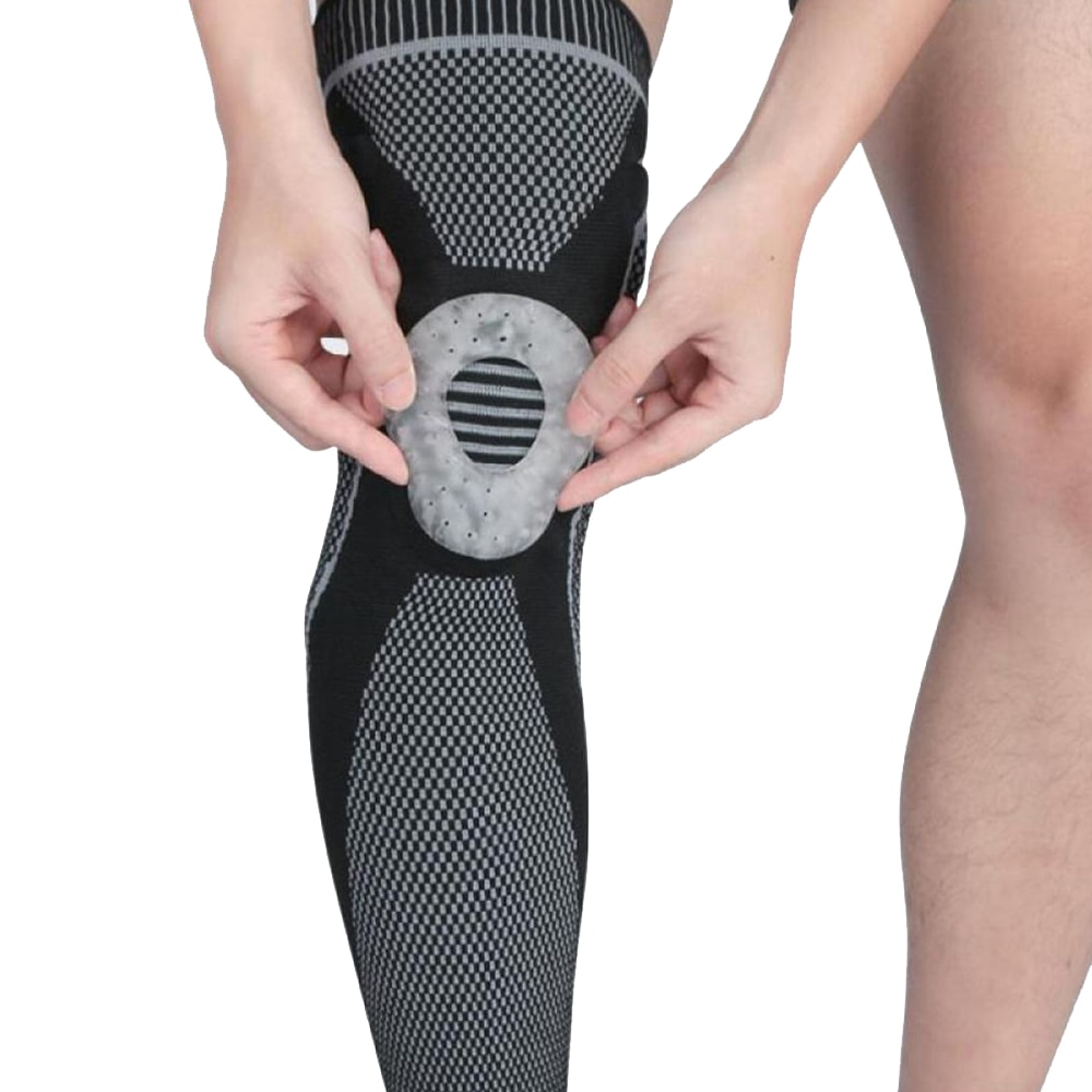 knee protector support compression knee pads for joints arthritis brace sport leg warmers volleyball football elastic bandage Sport Compression Knee Pads Orthopedic Knee Brace For Arthritis Joint Pain Protector Elastic Support Cycling Running Bandage Gym