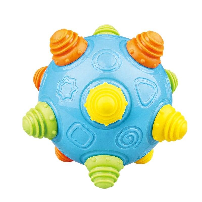 Iluminación infantil juguetes educativos bebé música de juguetes para bebés bolas de baile vibrantes