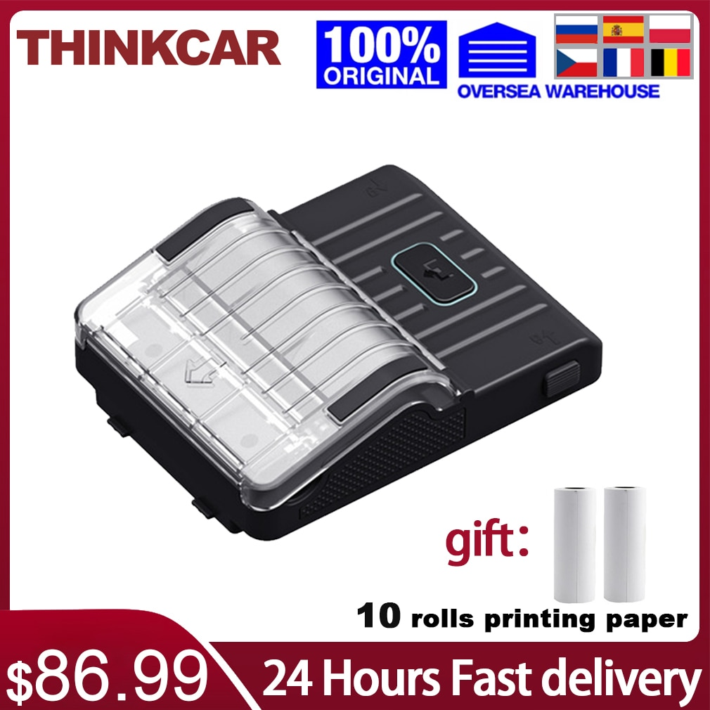 thermal print head for epson tm t88iv 884 printer replacement parts free shipping Thinkcar Printer for Thinktool Series Thinktool Mini with thermal printing paper free shipping 24 hours fast delivery