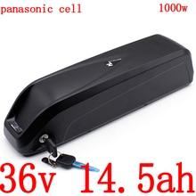 36v 250w 350w 500w 1000w batterie au lithium 36V 15AH batterie de vélo électrique 36v 14.5ah li-ion ebike batterie utiliser panasonic cell