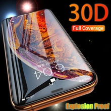 Tempered Glass For iPhone 12 Pro Max 11 Screen Protector 11Pro Max 12Pro Max High Quality 8 7 Plus X