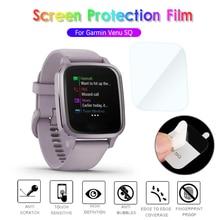 9H HD Tempered Glass Protective Film For Garmin Venu SQ SQ Music Smart Watch Screen Protector Access