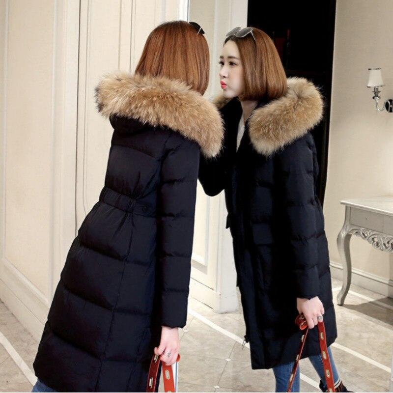 YICIYA зимняя куртка, пальто, женские теплые толстые хлопковые пальто, воротник, капюшон, хлопковые парки, куртки, длинные женские свободные па...