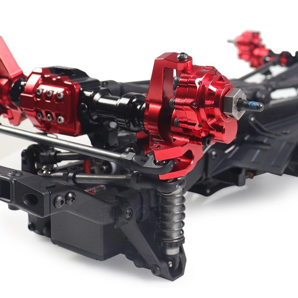 TRX4 Aluminum Portal Axle Housing for 1/10 RC Crawler Traxxas TRX-4 Defender Bronco G500 Chevrolet Metal Upgrade Parts enlarge